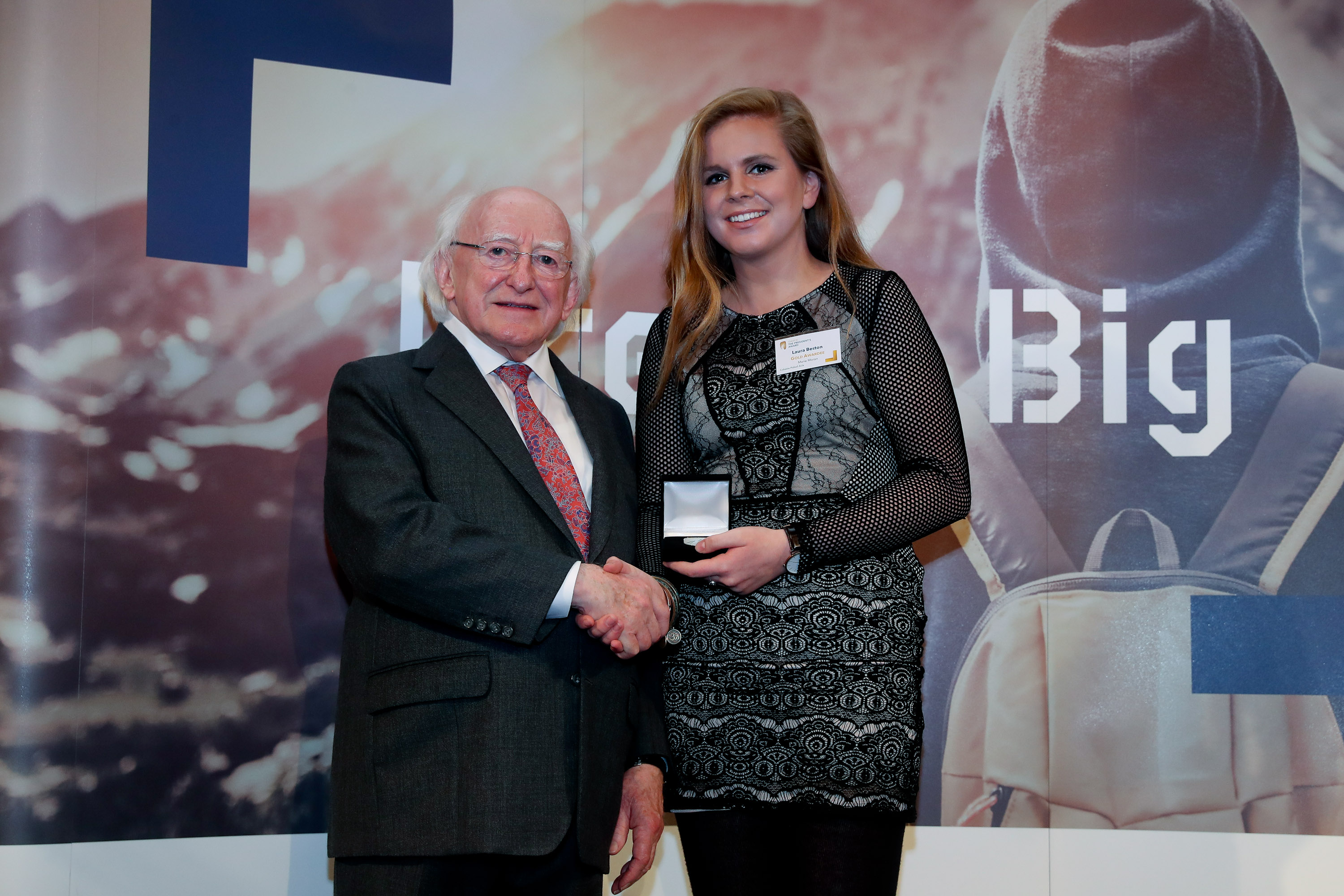 Local girl Laura wins Gaisce Award