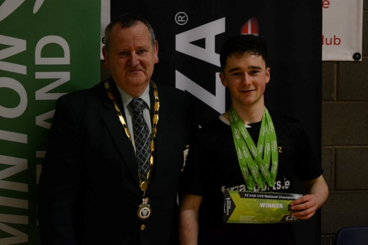 photo via Badminton Ireland/Facebook