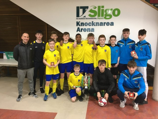 407f06fcd2 St Attracta s Tubbercurry and St Louis Kiltimagh secure top spot at FAI  Post Primary Schools First Year Connacht Futsal Finals