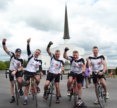 Midwest Radio - Mayo cyclists among group who completed 2,000 km