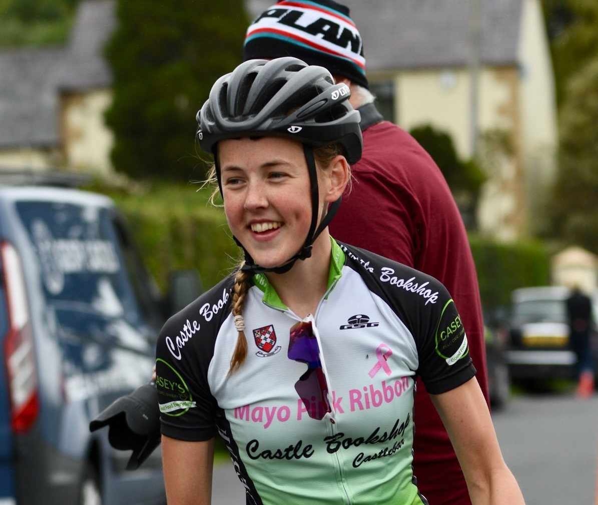 Anastasia Devine Wiki midwest radio - mayo cyclist maeve gallagher in action at